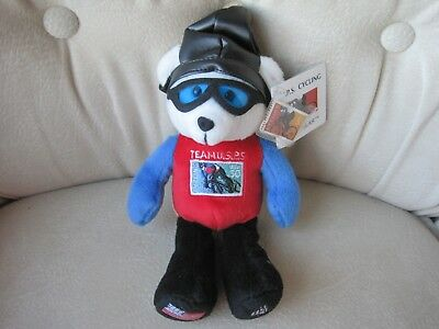 Collectible USPS Cycling Bear New with Stamp
