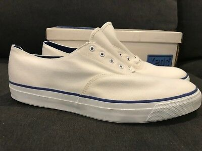 VTG DEADSTOCK KEDS SHOES DECK ANCHOR Sz 13 Mens VANS RARE SNEAKERS CANVAS NOS