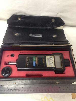 Extech Combination Contact/Laser Photo Tachometer used