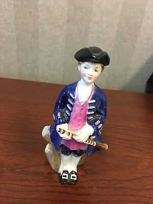 "1966 Royal Doulton ""Boy from Williamsburg"" Bone China Figurine HN2183"