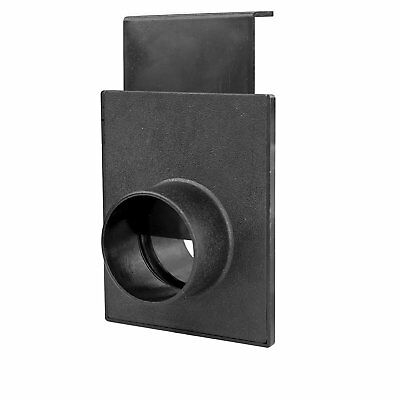 2-1/2-Inch Blast Gate for Vacuum/Dust Collector Durable ABS Material