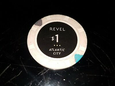 Revel Atlantic City casino chip $1
