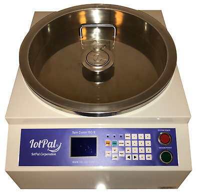 IotPal Corporation Model ISC-8 Spin Coater with Vacuum Pump