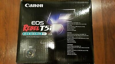 NEW in box  Canon EOS Rebel T5i / EOS 700D 18.0MP Digital SLR Camera (Body only)