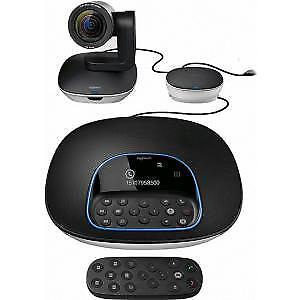 NEW! Logitech Video Conference Equipment 1920 X 1080 Video Content H.264 30 Fps
