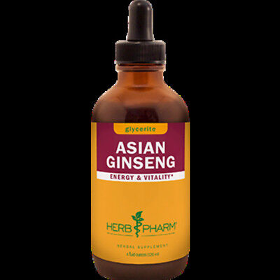 Herb Pharm - Asian Ginseng AlcoholFree 4 oz GLCHIN04 NNE  FREE 2 DAY