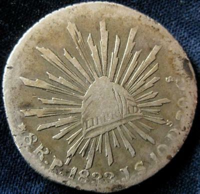 Mexico 8 Reales 1833 PiJS  VG #148