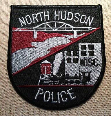 WI North Hudson Wisconsin Police Patch