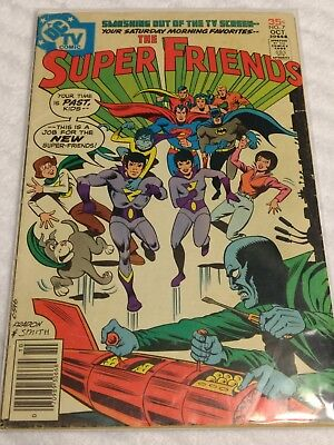 The Super Friends #7 1st Appearance of the Wonder Twins & Gleek! DC Comics