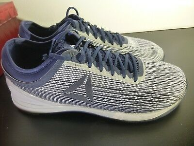 sz 11.5 Reebok CrossFit Nano 8 8.0 Men s Flexweave Blue training fitnss  shoes b2a53a58b
