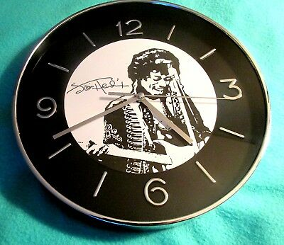 Jimi Hendrix Wall Clock Legendary Guitarist Rock Blues Guitar Player Best Music