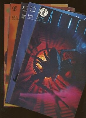 Aliens 1,2,3,4 Alien VS Predator 1 ~ 5 Book Lot * Complete Series and More!