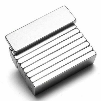 10X N52 Super Strong Magnets Square Block Rare Earth Neodymium Magnet 25X10X3mm