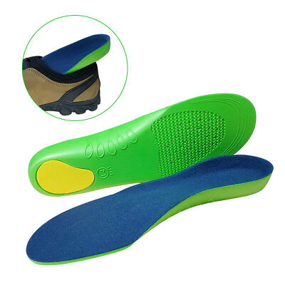 Sports Orthopedic Insoles Insert Shoes Pad Support Cushion Inner Soles 1 pair