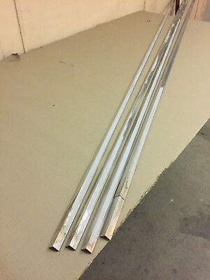 ALUMINIUM EQUAL ANGLE 19mm x 19mm x 1.6mm  WATER DAMAGED STOCK