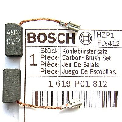 Bosch Carbon Brushes for PWS 6 600 650 680 1000 1500 Angle Grinder 1619P01812