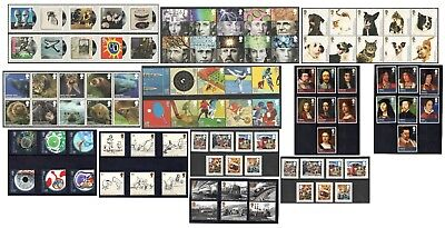 2010 Royal Mail Commemorative Sets MNH. Sold separately & as full year set.