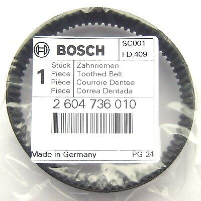 Bosch Toothed Drive Belt for PBS 75 A AE GBS 75 A AE Sander Part 2604736010