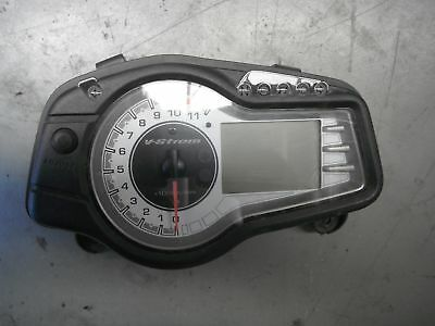 Dash cluster speedo tacho instruments panel SUZUKI DL650 VSTROM DL 650 2011