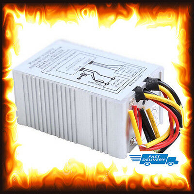 24V to 12V 5A DC Car Power Supply Converter Conversion Inverter Device Lorry