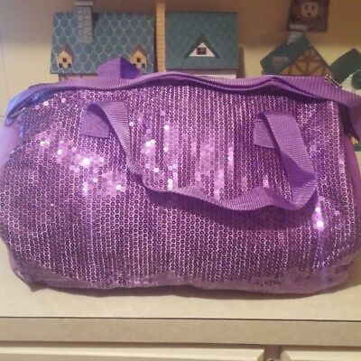 Girls sequin carry all bag