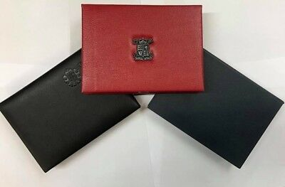 Official Royal Mint Blue, Red Or Black Empty Proof Set Coin Case Holders