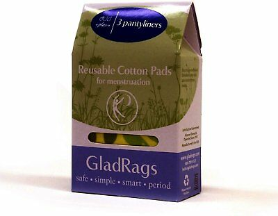 Pantyliner Plus, Glad Rags, 3 count Assorted