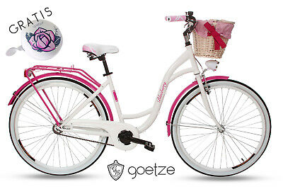 goetze 26 zoll blueberry damenfahrrad citybike retro. Black Bedroom Furniture Sets. Home Design Ideas