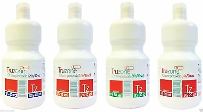 TRUZONE CREAM PEROXIDE 1000ml and 250ml 3% 6% 9% 12%