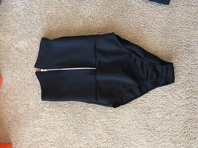 Super sexy Zip Front Body Suit From Boohoo Size 4