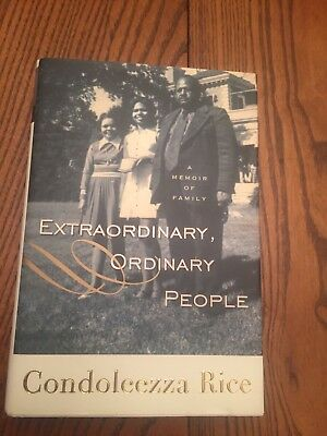 Signed Extraordinary Ordinary People A Memoir Of Family