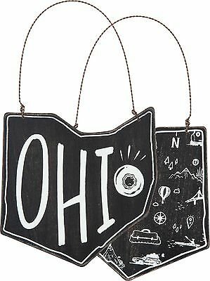 OHIO Primitives by Kathy State Series Christmas Ornament