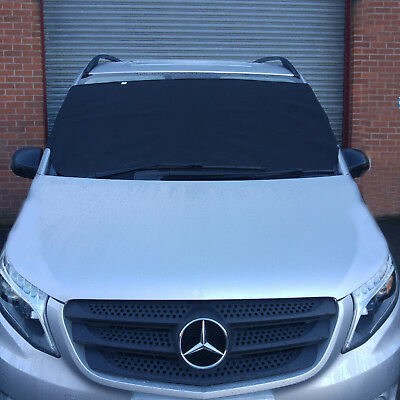 Anti-frost Windscreen Cover Snow Ice Protector Windshield for Mercedes MPV