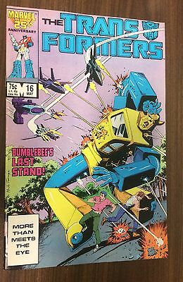 TRANSFORMERS (Vol 1) #16 -- Herb Trimpe