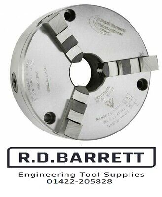 PRATT BURNERD  80mm 3 JAW CHUCK FRONT MOUNTING  HARRISON & COLCHESTER LATHES