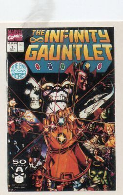 1st Covers Series 2     Infinity Gauntlet       Trading Card No 99