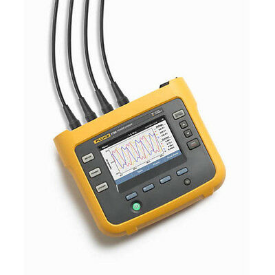 Fluke 1738/EUS 3-Phase Advanced Power Logger, FC, Flexible Probes