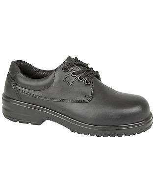 Amblers Composite Ladies Safety Shoe – FS121C (Safety: S1-P-SRC) – 20442