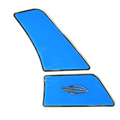 Chaparral Boat Tower Raised Decal 14.00739 | Extreme Port Blue Ice