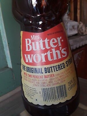 Mrs Butterworth Syrup Bottles From The 1960's- 70's
