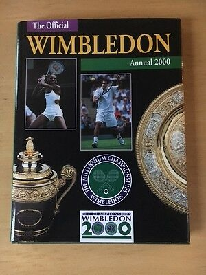 The Official Wimbledon Annual 2000 By John Parsons FREE POST