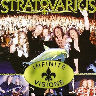 Infinite Visions STRATOVARIUS CD+ DVD EDITION OUT OF PRINT