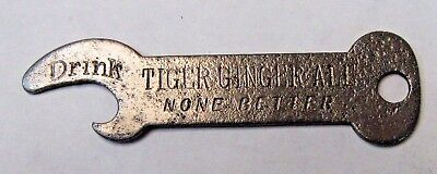 "DRINK TIGER GINGER ALE NONE BETTER Soda Washington D.C.  3"" beer bottle opener *"