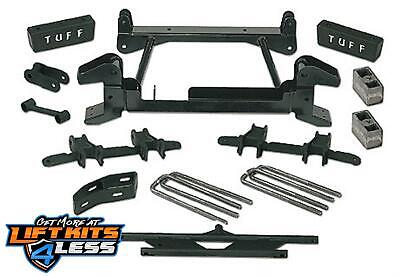 """Tuff Country 14853 4"""" Front/Rear Lift Kit for 1992-1998 GMC Suburban 2500 4WD"""