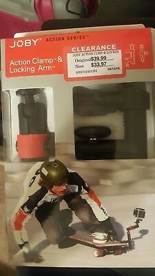 JOBY Action Clamp and Locking Arm for GoPro and Sports Action Video Cameras NIB