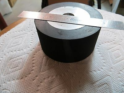 "2""x72"" Belt Sander/Grinder Rubber Drive Wheel, 4"" Knife Making Wheel, 3/4"" Bore"