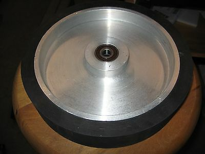 "2""x72"" Belt Sander/Grinder Rubber Contact Wheel, 250mm,(10"") Knife Making Wheel"