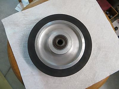"1""x72"" Belt Sander/Grinder Rubber Contact Wheel, 6"" X 1""  Knife Making Wheel"