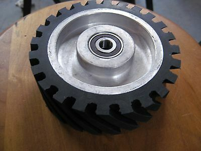 "2""x72"" Belt Sander/Grinder Rubber Contact Wheel, 6"" Knife Making Contact Wheel"