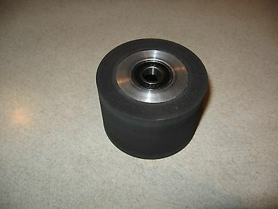 "Belt Grinder Rubber Contact Wheel, 76mm,(3"") Diameter Knife Making Rubber Wheel"